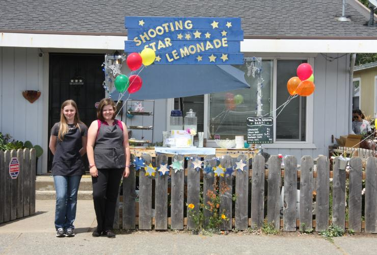 Lemonade Stand, Eureka, North Coast Open Studios